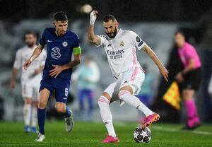 تساوی رئال و چلسی در مادرید