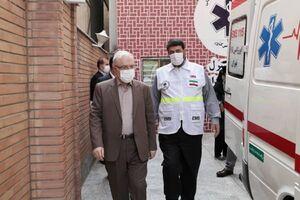 فیلم/ بازدید سرزده وزیر بهداشت از بیمارستان شهدای پاکدشت