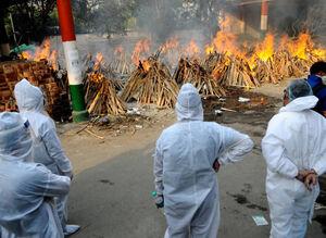 کرونا همچنان در هند رکورد میزند