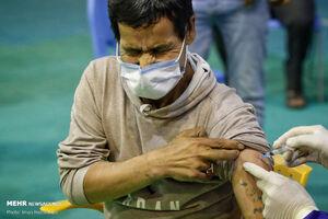 عکس/ مرحله دوم واکسیناسیون پاکبانها در همدان