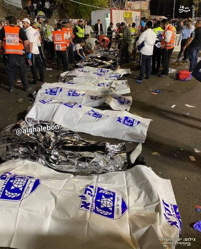 عکس/ هلاکت دهها صهیونیست در حادثه سقوط پل