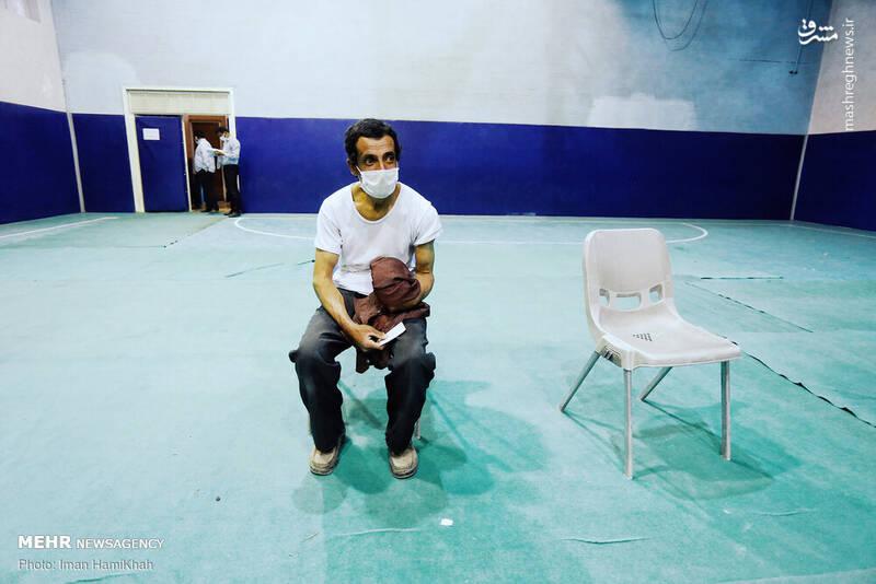عکس/ مرحله دوم واکسیناسیون پاکبانها در