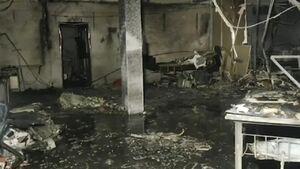 ۱۸ کشته در آتش سوزی بیمارستان بیماران کرونایی در هند