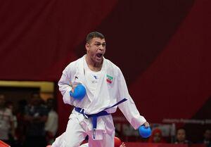 صعود مقتدرانه کاپیتان پورشیب به دیدار نهایی لیگ جهانی کاراته