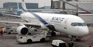 اسکورت هواپیمای اسرائیلی توسط جنگندههای ناتو