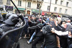 پلیس فرانسه دهها معترض را بازداشت کرد
