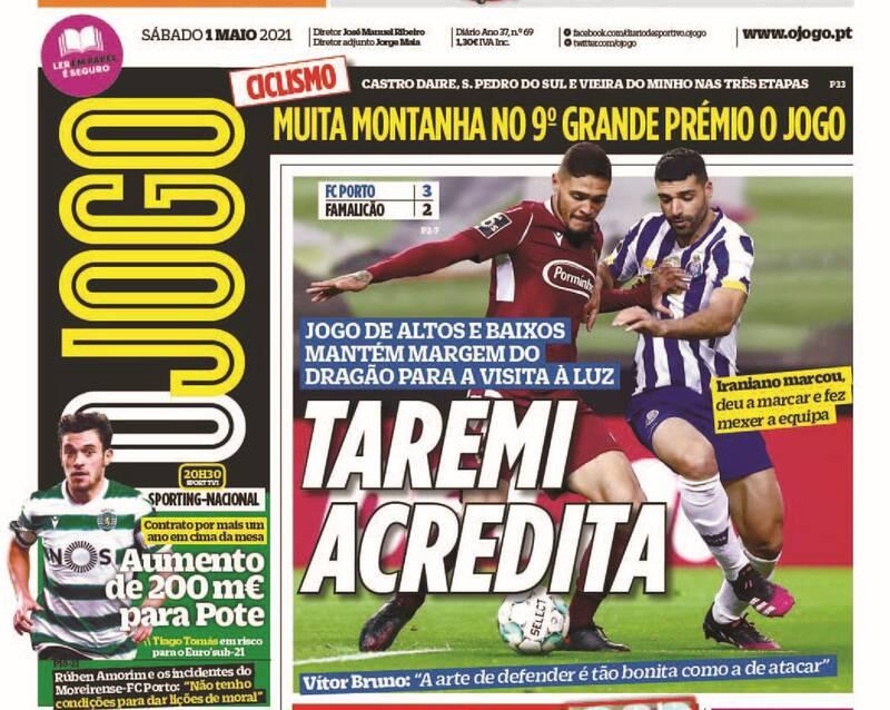 تمجید روزنامه پرتغالی از طارمی +عکس
