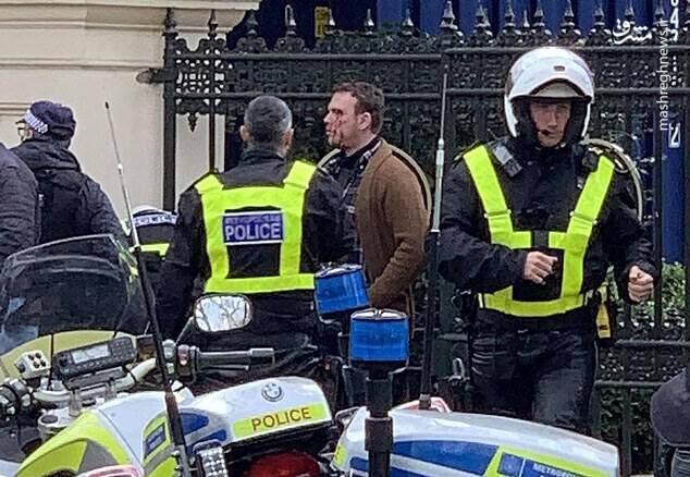حمله به محل اقامت سفیر عربستان در لندن +عکس