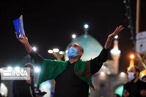 مراسم احیا شب نوزدهم ماه رمضان در حرم مطهر رضوی