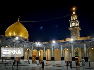 عکس/ مسجد کوفه در شب نوزدهم رمضان