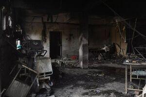 کشتهشدن ۱۸ کرونایی در آتشسوزی بیمارستان هند