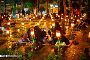 عکس/ احیای شب نوزدهم بهشت زهرای تهران
