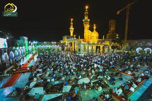 عکس/ حال و هوای کاظمین در شب نوزدم رمضان