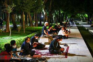 مراسم احیاء شب نوزدهم ماه مبارک رمضان -اصفهان