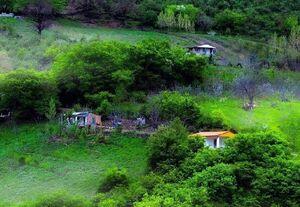 عکس/ طبیعت بکر روستایی در گلستان