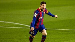 گل دیدنی مسی برای بارسلونا از روی نقطه پنالتی + فیلم