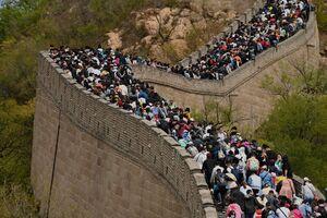 عکس/ گردش چینیها در دوران کرونا
