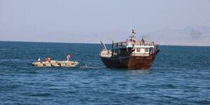 توقیف شناور هندی با دو سرنشین کرونایی در آبهای ایران