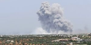 وقوع انفجاری مهیب در سوریه+فیلم و عکس