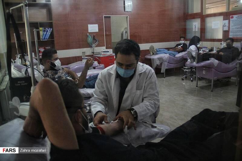 نذر اهدا خون در شب شهادت مولای متقیان