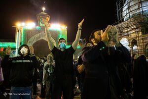 عکس/ احیای شب بیست و یکم رمضان در تهران