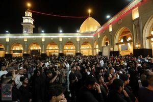 عکس/ مسجد کوفه در ایام شهادت حضرت علی (ع)