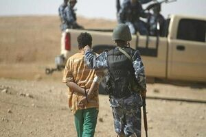 بازداشت پستچی داعش در کرکوک