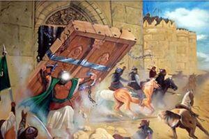 وقتی در قلعه خیبر سپر مرتضی علی(ع) شد