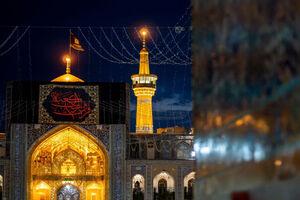 فیلم/ مشهد در شب شهادت امیر مومنان حضرت علی(ع)