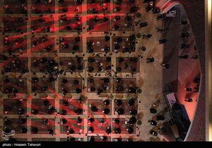 عکس/ احیای شب بیست و یکم ماه رمضان در کیش