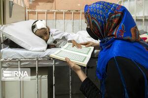 عکس/ شب بیستو یکم رمضان در بیمارستانهای گرگان