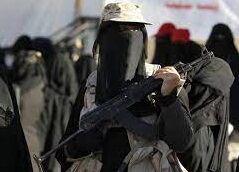 رزمندگان زن در یمن+ فیلم