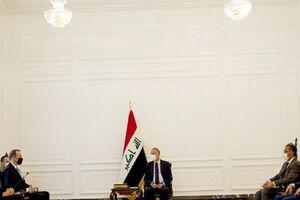 دیدارهای نخست وزیر و رئیس جمهور عراق با هیات آمریکایی