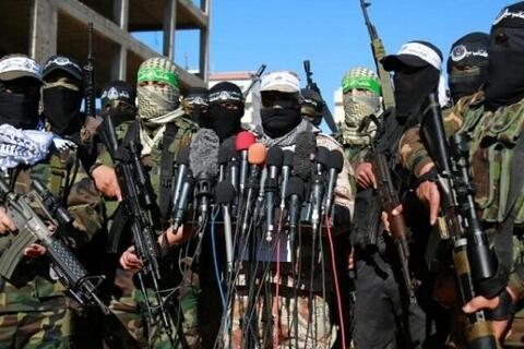 تصاویری از لحظه شلیک خمپاره به سمت اشغالگران صهیونیست