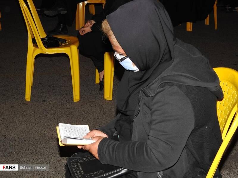 عکس  مراسم دومین شب پرفیض قدر در گیلان