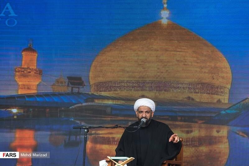 سخنرانی حجت الاسلام بی آزار تهرانی در اجتماع عزاداران روز شهادت امیرالمؤمنین(ع)
