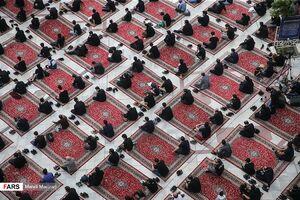 عکس/ عزاداری روز شهادت حضرت علی (ع) در تهران