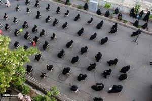 عکس/ عزاداری شهادت حضرت علی(ع) در تبریز