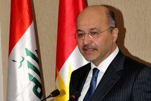ادعادی رئیس جمهور عراق درباره تعداد دیدارهای ایران و عربستان