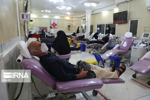 میزان افت اهدای خون در کشور کاهش یافته است