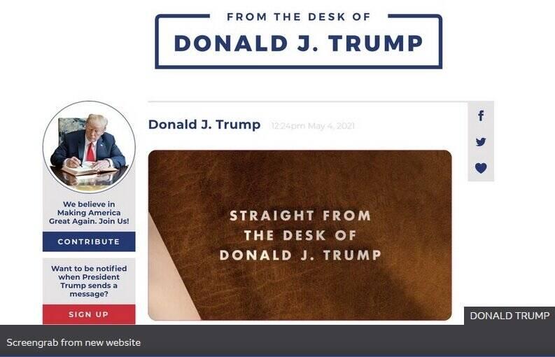 واکنش ترامپ به مسدود ماندن حساب های کاربری خود در فیسبوک و اینستاگرام