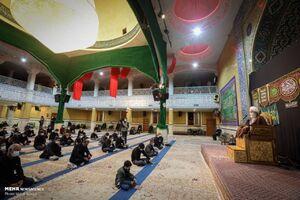 عکس/ حسینیه اعظم زنجان میزبان شب زندهداران