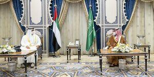دیدار ولیعهد ابوظبی با همتای سعودی در جده
