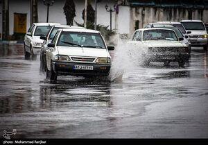 عکس/ باران بهاری در رشت