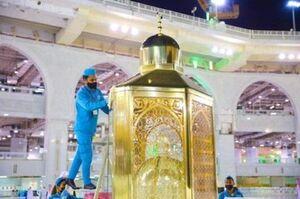 تصاویر جدید از مقام حضرت ابراهیم (ع)