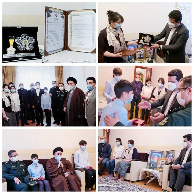 ناراحتی سرمایه های اسرائیل از سفیر ایران+ عکس
