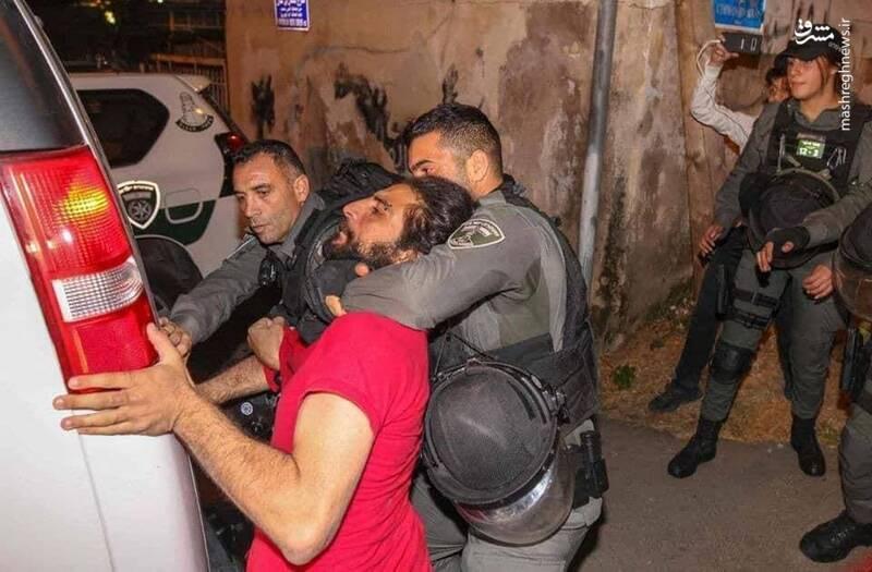 سرکوب شب ۲۳ رمضان در فلسطین اشغالی+ عکس