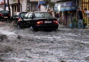 باران و رعدوبرق ۵ روزه در ۲۵ استان
