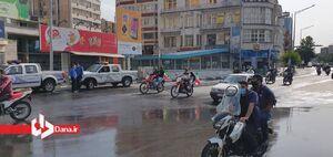 عکس/ رژه موتوری خودجوش روز قدس در تهران
