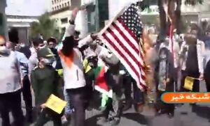 فیلم/ تجمع خودجوش در حمایت از مردم مظلوم فلسطین